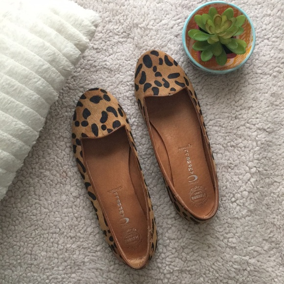 Jeffrey Campbell Leopard Flats